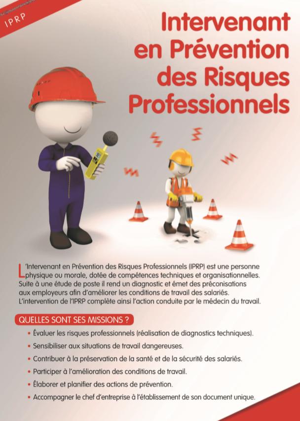 Intervenant En Prevention Des Risques Professionnels Iprp